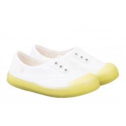 Zapatillas de lona con elástico de Igor modelo Berri flúor