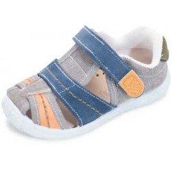 Sandalias de lona para niño con velcro, de Lonettes Zapy for kids