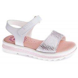 Sandalias para niña en piel de Pablosky