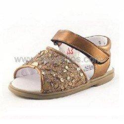 Sandalias color bronce Cucada de Eli