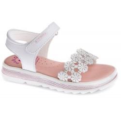 Sandalias para niña de piel de Pablosky