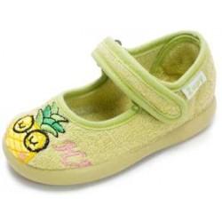 Zapatillas de estar en casa para niña con piña de Zapy