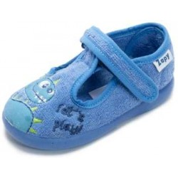 Zapatillas de estar en casa para niño de dinosaurios de Zapy