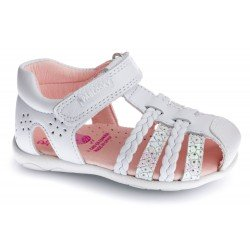 Sandalias cerradas para bebé niña de Pablosky