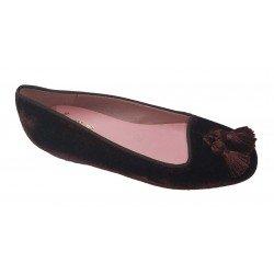 Zapatos para niña con borlas de Ruth Secret