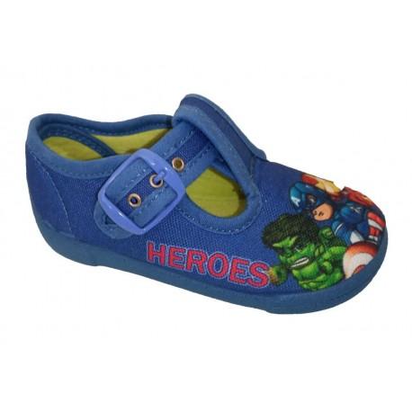 Lonas para niño con hebillas de Michu Shoes