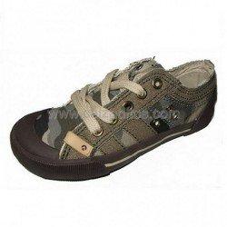 Zapatillas de lona camuflaje, de Victoria