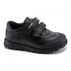 Zapatos colegiales de piel para niño de Pablosky