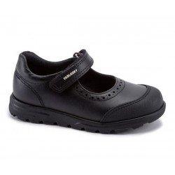 Zapatos colegiales para niña de piel de Pablosky