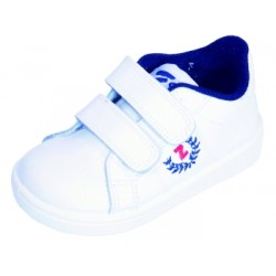 Zapatillas de deporte unisex de piel lavable de Zapy