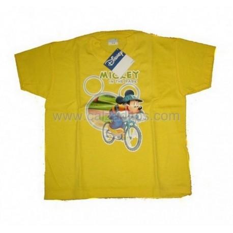 Camiseta Disney amarilla de Mickey Mouse