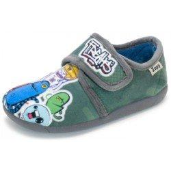 Zapatillas de estar en casa grises para niño, de Zapy