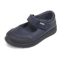 Zapatos colegiales para niño en piel lavable de Zapy