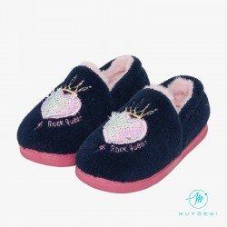 Zapatillas de estar en casa para niña de Muydemi