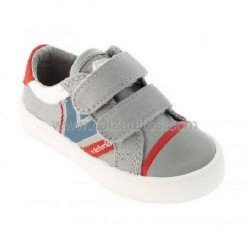 Zapatos deportivos grises con velcros, de Victoria