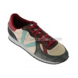 Zapatillas deportivas modelo jogging beige, de Victoria