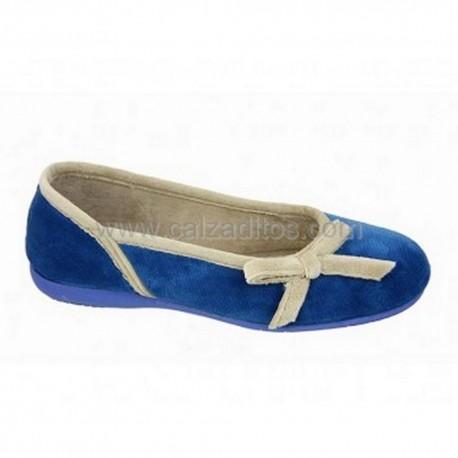 Zapatillas de estar en casa azules, de Zel's
