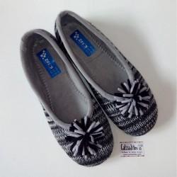 Zapatillas de estar en casa grises, de Zel's