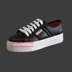 Zapatillas de napa sintética negra con suela doble, de BrixBol