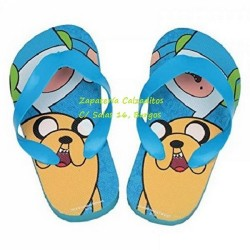 Chanclas de dedo de Hora de Aventuras de Cartoon Network