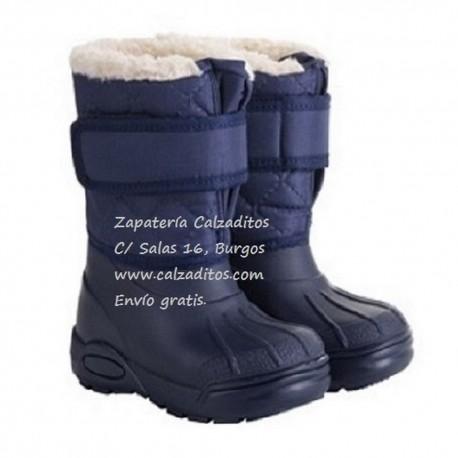 Botas de agua o ski en azul marino para niños, de Igor