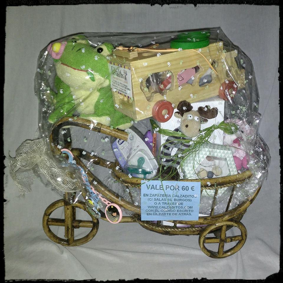 cesta infantil de regalo